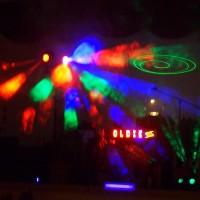 Lichteffekte beim Party DJ