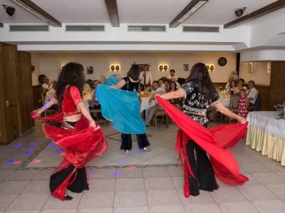 Tanzfläche und Plazierung der Gäste