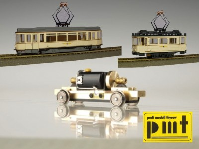Antriebe für Straßenbahnen