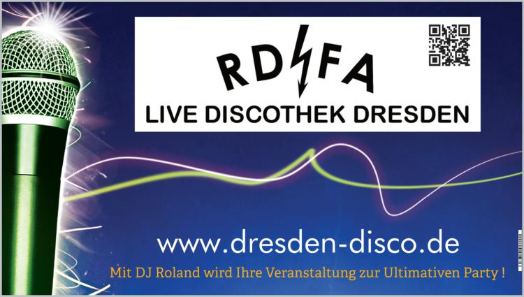 Die RDFA Live Discothek Dresden