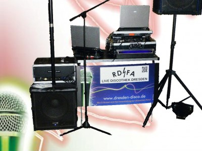 Discoanlage mit großen Boxen