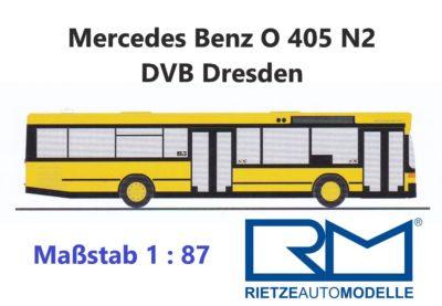 Mercedes Benz  O 405 N2 Linienbus der DVB Dresden